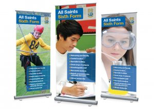 Open Day roller banners