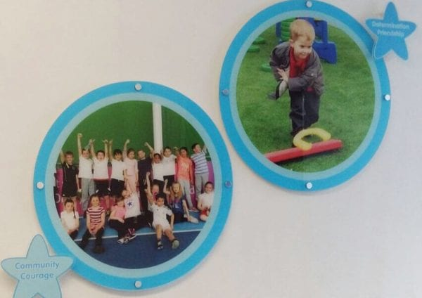 Pipworth Primary school wall display