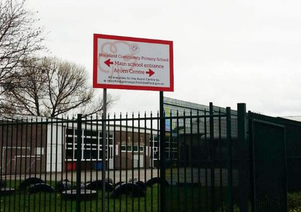 Major makeover at Moorfield - Superb signage and brilliant branding
