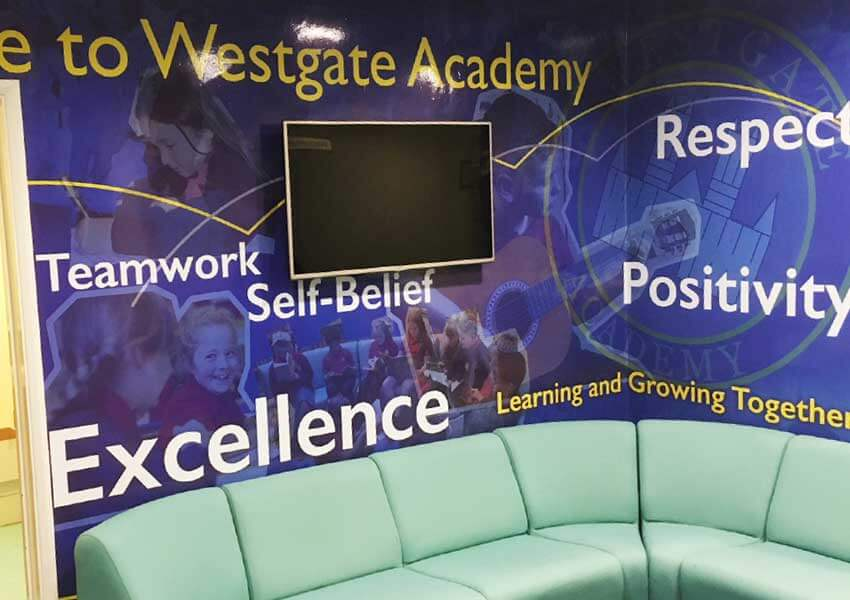 Wonderful new wall display are wowing at Westgate