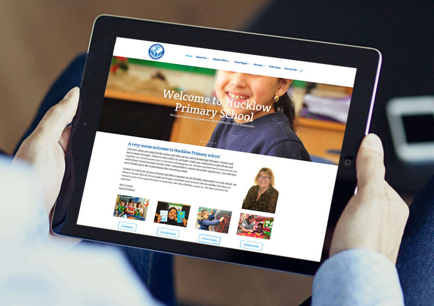 Design for Education offer additional support and training to help you update your website.