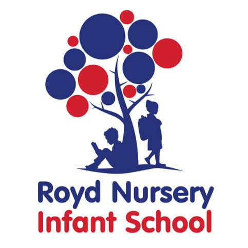 Royd Nursery Infant School Branding