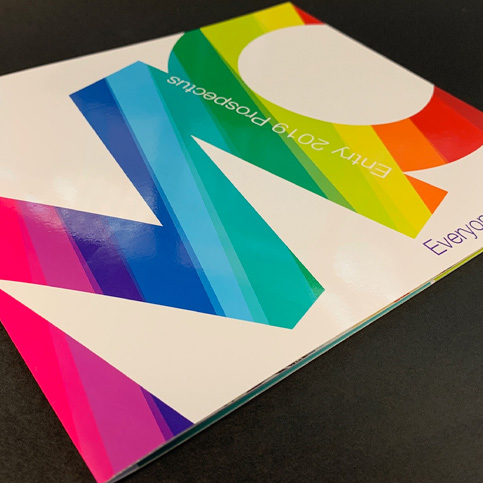 Stylish new prospectus for Mirfield College