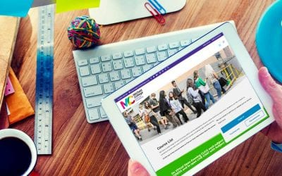 The new Mirfield Sixth Form College website welcomes more visitors
