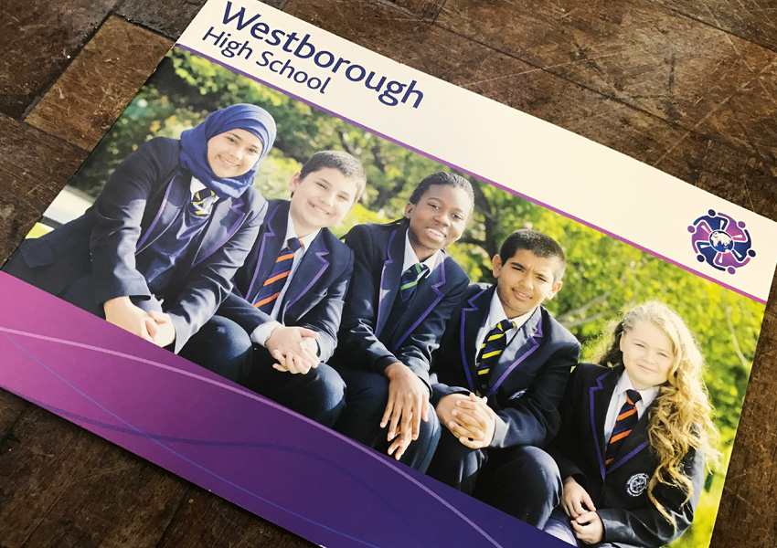 Westborough High School Re-brand including Interview with Jennifer Napper