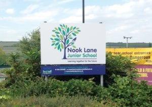 Nook Lane Signage