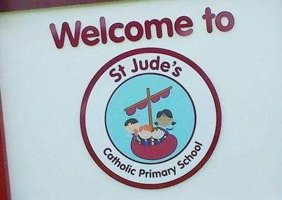 st jude's branding