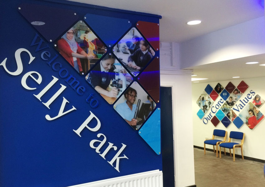 Stunning Signage and Wall Displays at Selly Park