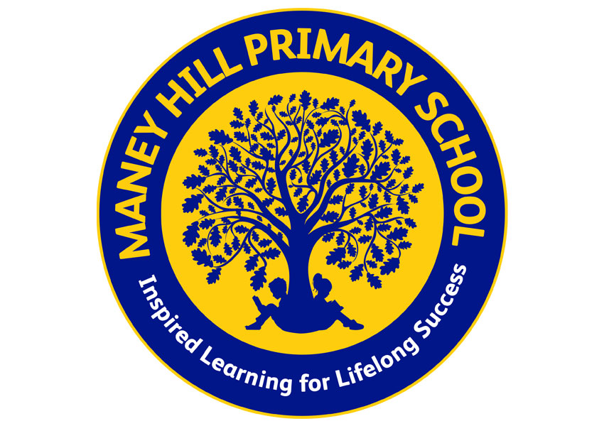 Primary school logo design and branding at Maney Hill Primary