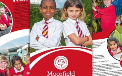 Moorfield Community Primary School Prospectus goes digital