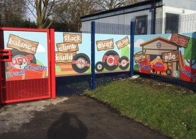 safeguarding school playground