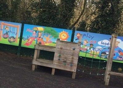 Safeguarding panels wall art