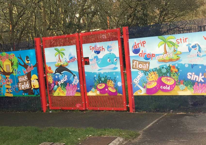 Safeguarding Panels at St Matthew's CE Primary School