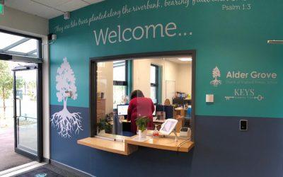 New Reception area transforms school entrance