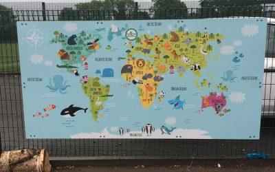 School World Map