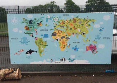 EYFS World Map